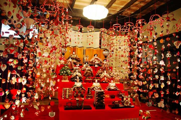 「雛の吊るし飾り展」開催のお知らせ